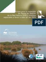 SEO-BirdLife Directrices PG RN2000