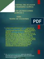 Diapositivas Teoria de Las Colisones