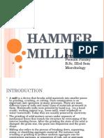 Hammer Milling