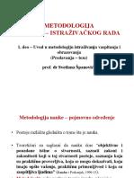 Metodologija Nauno - Istraivakog Rada1 (2)