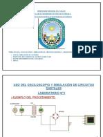Uso Del Osciloscopio y Simulacion de Circuitos Digitales Apolinario Rojas Lu