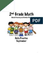 2nd Grade Math September Sample