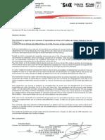 """Communiqué sur l'annulation du """"in"""" du Catalpa."""
