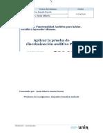 Auditiva Prueba PAF
