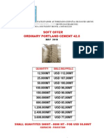 Soft Offer Cement-may10
