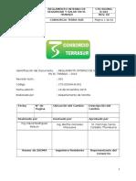 Cts Ssoma r 001 Reglamento de SST