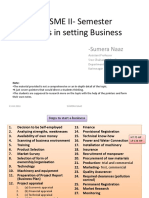 Steps in Setting of SME_SN_March_2016