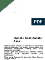 Asas Statistik
