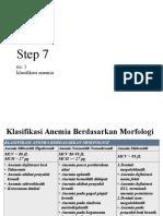 Hi Anemia Step 7 Klasifikasi