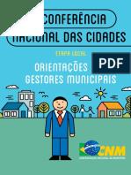 6ª Conferencia Das Cidades (2016)