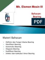 Materi Bantalan Bearing