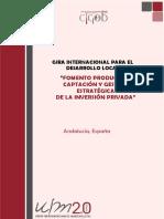 Programa Fomrnto Productivo España