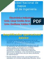 Presentacion Amplificadores Operacionales