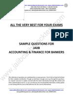 JAIIB AFB Sample Questions by Murugan for Nov 2015