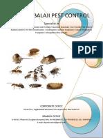 Estate Balaji Pest Control Profile