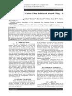 Ply Orientation of Carbon Fiber Reinforc