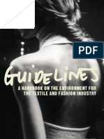 Guidelines - A handbook on the environment for the textile and fashion industry