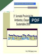 ASER - Costrucciones Bioclimáticas