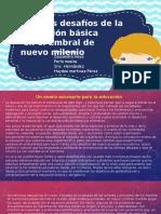 Algunos Desafíos de La Educación Básica Panorama