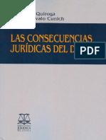 Ortiz consecuencias juridicas del delito