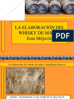 procesos de elaboracion de whiski