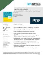The Coaching Habits