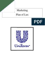 Marketing Plan of Lux