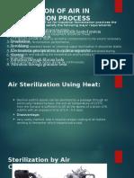 Air STERILISATION