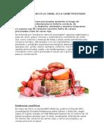 El Problema No Es La Carne, Es La Carne Procesada (2)