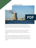 Energía Nuclear o Atómica