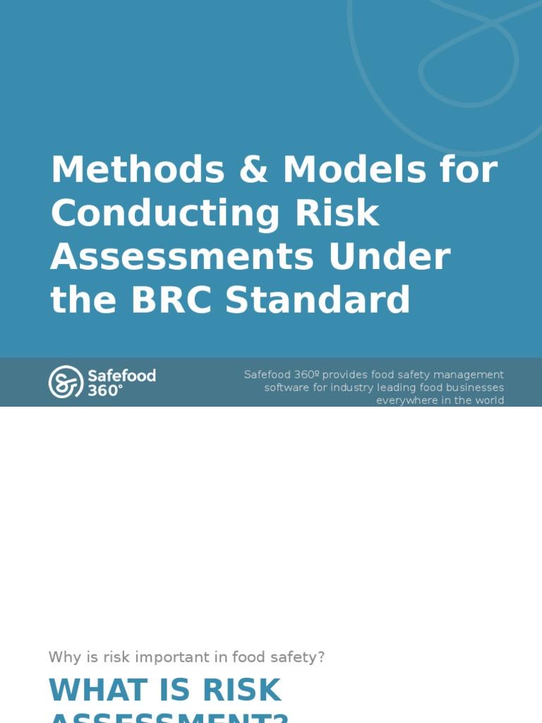 Brc risk assessment risk assessment risk for Gardening risk assessment