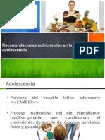 RECOMENDACIONES ADOLESCENCIA.pptx