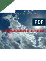LA TERCERA REVELACIÓN DE LA LEY DE DIOS WORD.doc