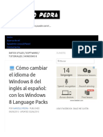 Cómo Cambiar El Idioma de Windows 8 Del Inglés Al Español_ Con Los Windows 8 Language Packs - Marcelo Pedra