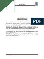 Informe Final Geofisica