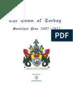 Torbay Municipal Plan 2007-2017