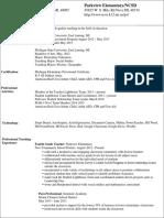 lindsey buscemi resume 2016