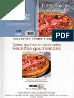 Ait-Ali Sylvie - Tartes Quiches Et Cakes Sales