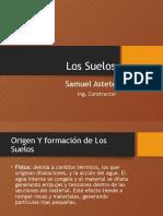Clase 2 - Los Suelos