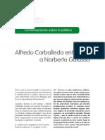 Alfredo Carballeda entrevista a Norberto Galasso