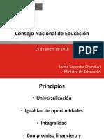 MINEDU - Presentación CNE - 20160115 Final 2