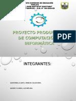 sustentación de proyecto