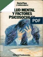 Salud Mental y Factores Psicosociales
