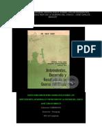 Cronologia Guerra Del Chaco (1)