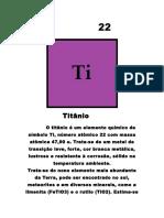 Trabalho Física Titânio