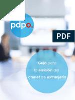 Pdpo - Cambio de Calidad Migratoria
