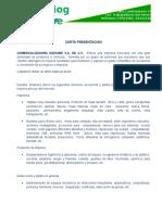 Carta Presentacion Herdez