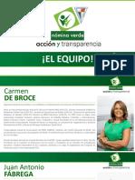 Equipo Nomina Verde Apede 2016
