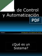 Introducción a la Teoría de Control