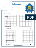 Math Grade 2 Worksheet #2 - Introduction to Graphing